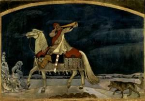 Akseli Gallen-Kallela: Kullervon sotaanlähtö 1901