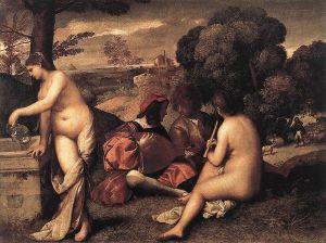 Tizian: Pastoraalikonsertti, 1510