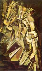 Marcel Duchamp: Nude Descending a Staircase no 2 (1912)